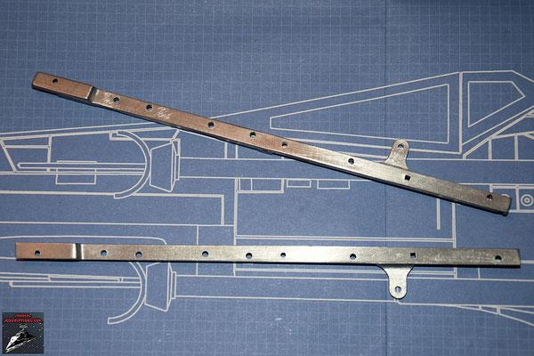 DeAgostini Bau deinen X-Wing Ausgabe 32 Seiterahmen für den Rumpf (Metall)
