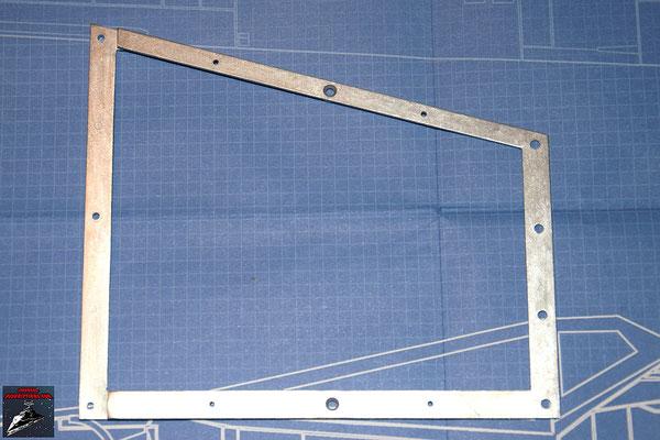 DeAgostini Bau deinen X-Wing Ausgabe 8 Flügelrahmen oberer Steuerbordflügel (Metall)