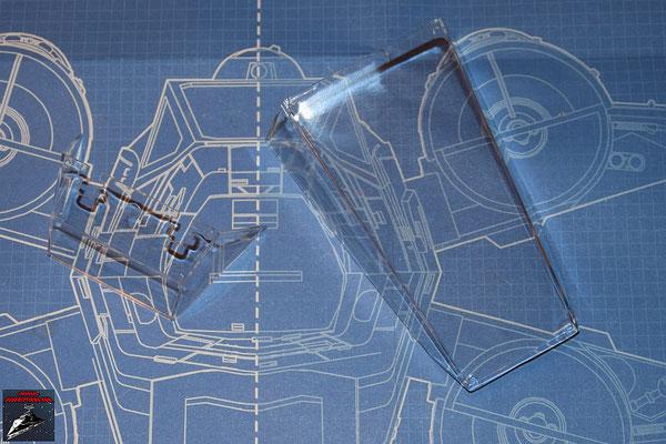 DeAgostini Bau deinen X-Wing Ausgabe 18 Cockpitverglasung