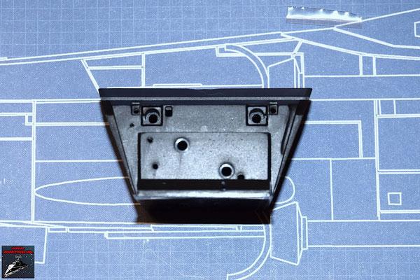 DeAgostini Bau deinen X-Wing Ausgabe 36 Konsole Lebenserhaltungssystem (Kunststoff)