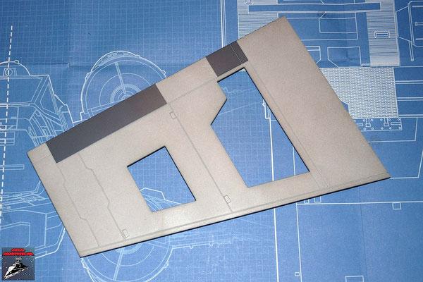 DeAgostini Bau deinen X-Wing Ausgabe 17 Untere Flügelverkleidung (Kunststoff)
