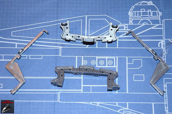 DeAgostini Bau deinen X-Wing Ausgabe 36 Cockpitrahmen (Metall)