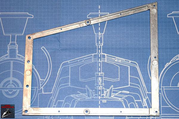 DeAgostini Bau deinen X-Wing Ausgabe 22 Flügelrahmen Unterer Backbordflügel (Metall)