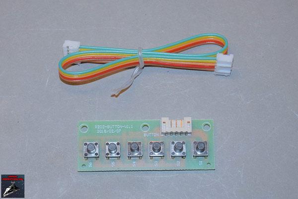 Build your own R2-D2 Ausgabe 80 Schaltplatine mit Kabel