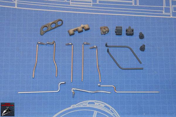 DeAgostini Bau deinen X-Wing Ausgabe 60 Anbaudetails und Rohrleitungen (Kunststoff)