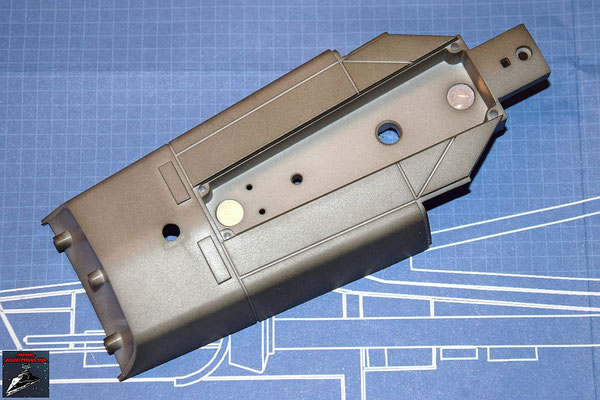 DeAgostini Bau deinen X-Wing Ausgabe 37 Untere Rumpfverkleidung (Kunststoff)