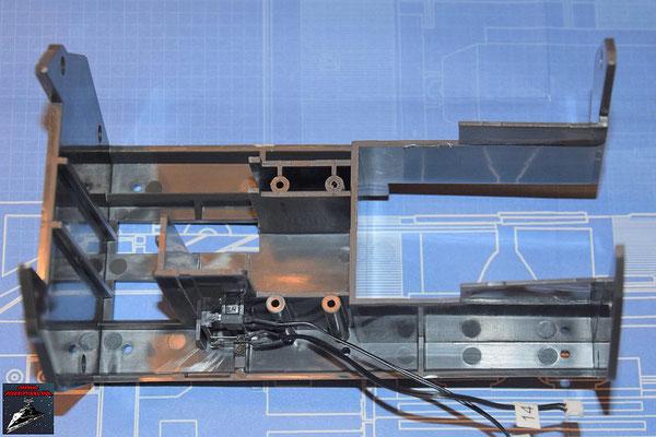 DeAgostini Bau deinen X-Wing Ausgabe 69 Halterung für die Flügelmechanik