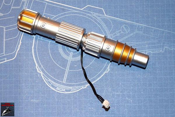 DeAgostini Bau deinen X-Wing Ausgabe 20 Der Generator wird zusammengesetzt und das Kabel darin verlegt