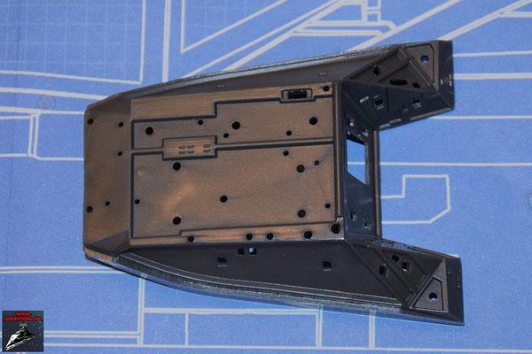 DeAgostini Bau deinen X-Wing Ausgabe 63 Instrumentenkonsole, Oberseite (Kunststoff)