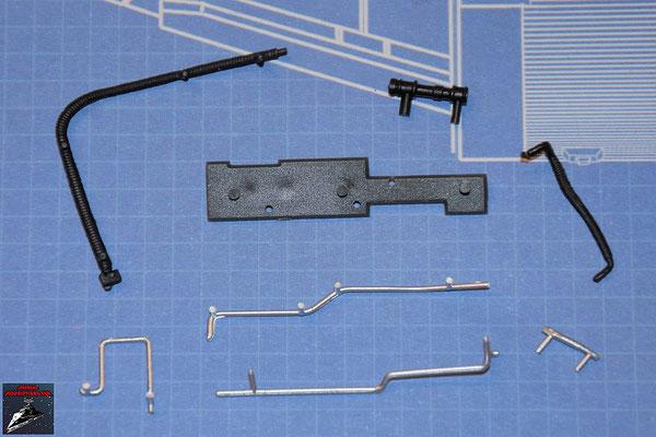 DeAgostini Bau deinen X-Wing Ausgabe 63 Instrumententafel und Verbindungen (Kunststoff)