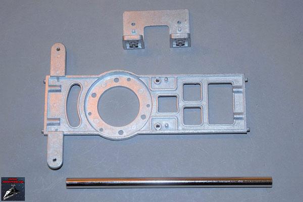 Build your own R2-D2 Ausgabe 79 Komponenten für den Rumpf (Metall)