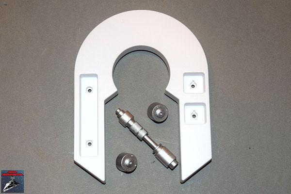 Build your own R2-D2 Ausgabe 36 Linke Schlterplatte (Kunststoff) und Anbaudetails (Metall)