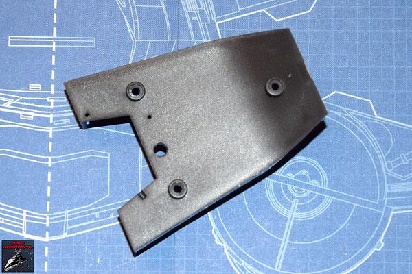 DeAgostini Bau deinen X-Wing Ausgabe 5 Cockpitboden der Frontkonsole (Kunststoff)