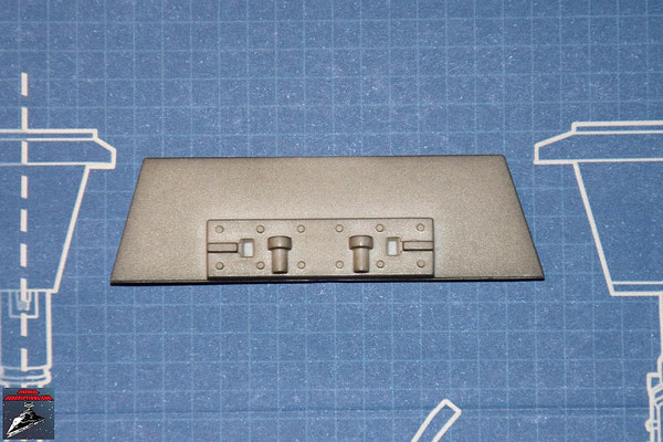 DeAgostini Bau deinen X-Wing Ausgabe 22 Verstrebung Flügelwurzel unterer Backbordflügel (Kunststoff)