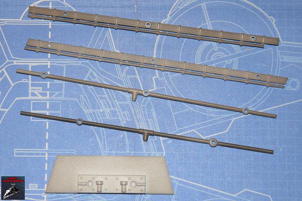 DeAgostini Bau deinen X-Wing Ausgabe 52 Rohre und Kabel (Kunststoff)