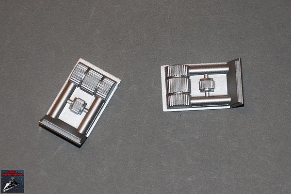 Build your own R2-D2 Ausgabe 19 Details für das linke Bein (Kunststoff)