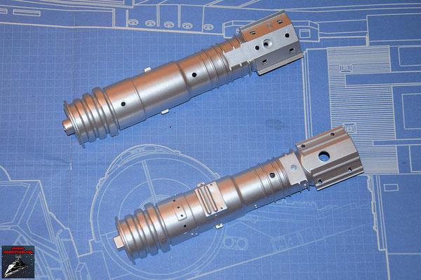 DeAgostini Bau deinen X-Wing Ausgabe 59 Obere und untere Hälfte des Energieverteilers (Kunststoff)