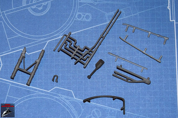 DeAgostini Bau deinen X-Wing Ausgabe 25 Neun Anbaudetails (Kunststoff)