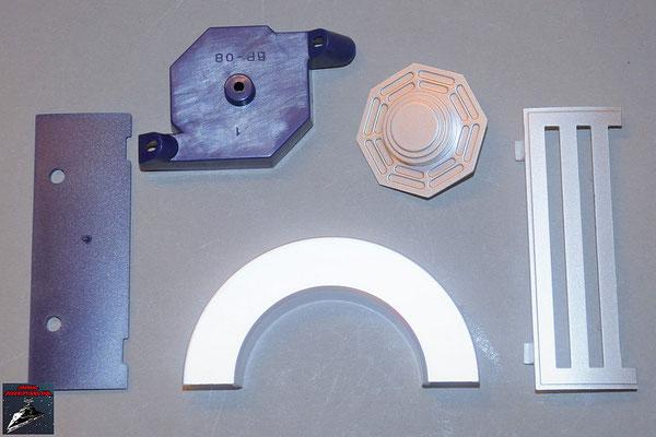 Build your own R2-D2 Ausgabe 68 Schulterplatte und Anbausetails für den Rumpf (Kunststoff)