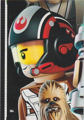 LEGO Star Wars Tradings Cards Serie 2 Karte 184