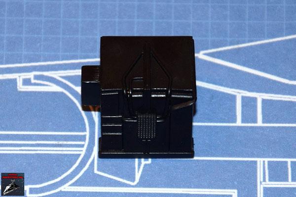 DeAgostini Bau deinen X-Wing Ausgabe 35 Das Detail wird an dem Zielcomputer befestigt