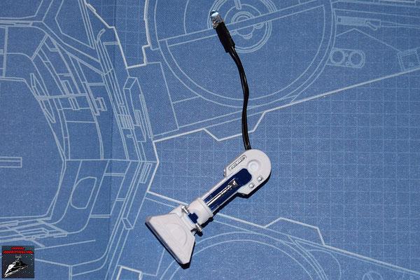 DeAgostini Bau deinen X-Wing Ausgabe 3 Die anderen Komponenten des Beines werden zusammengesetzt