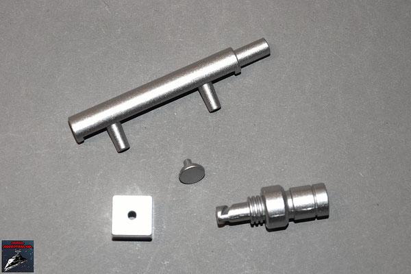 Build your own R2-D2 Ausgabe 39 Hydraulik-Komponenten linkes Bein (Kunststoff und Metall)