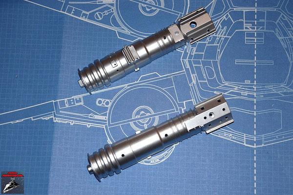 DeAgostini Bau deinen X-Wing Ausgabe 15 Die zwei Hälften des Energieverteilers (Kunststoff)