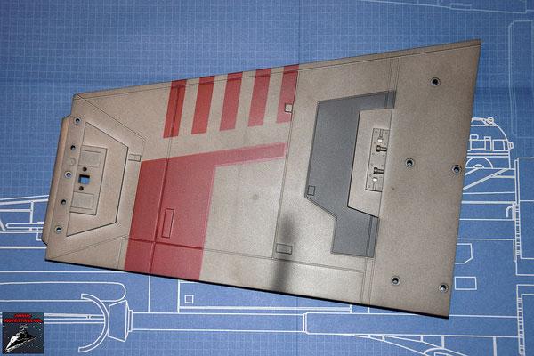 DeAgostini Bau deinen X-Wing Ausgabe 7 Oberer Steuerbordflügel (Kunststoff)