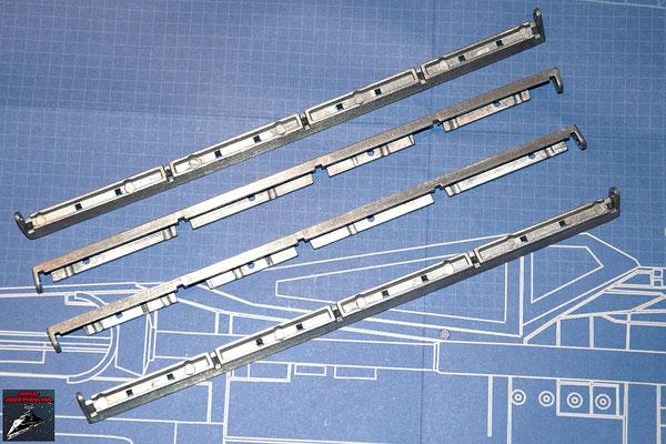 DeAgostini Bau deinen X-Wing Ausgabe 35 Rahmenstreben (Metall)