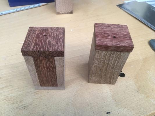Holzdosen für Zahnstocher mit Magnetdeckel