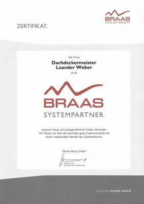 Ernennung zum Braassystempartner