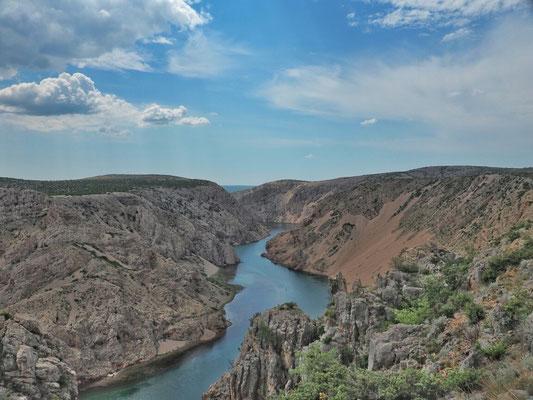 Zmranja Canyon - Standort des Pueblo und Drehort einiger Szenen