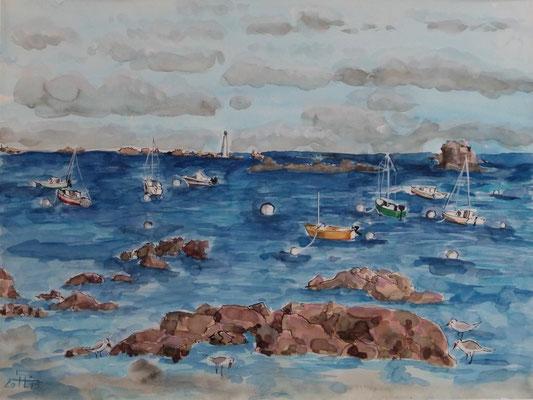 Küste an der Bretagne 1 - 250 Euro