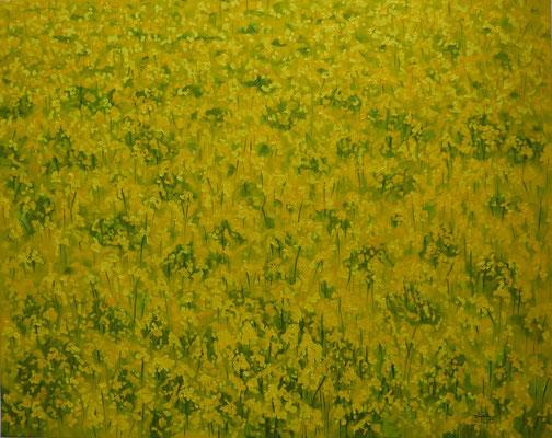 Rapsfeld (80 x 100 cm) - verkauft