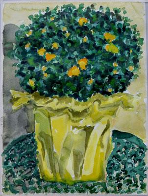 Gelbe Blumen - 250 Euro