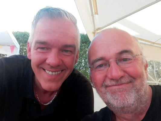 beim bmt-Tierheimfest der Arche Noah in Brinkum, mit Tierschützer Peter Hübner