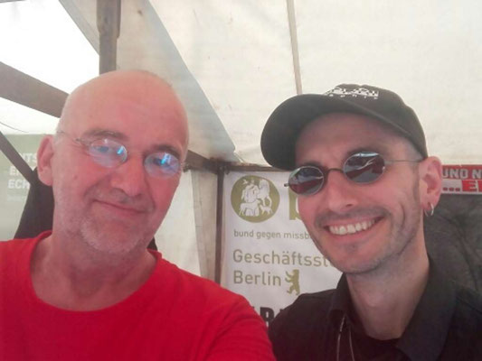 Berliner Umweltfestival mit Mark Benecke Juni 2019