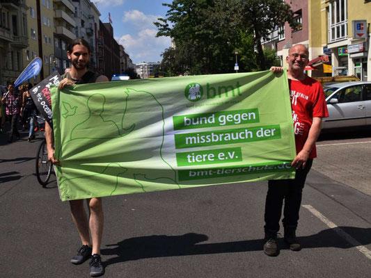 Tierrechtsdemo in Berlin Juni 2019