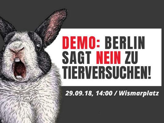 Demo - Berlin sagt NEIN zu Tierversuchen!
