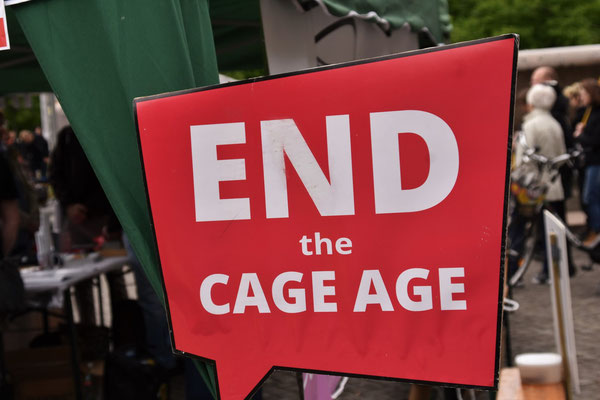 Protestkundgebung gegen EU-Tiertransporte