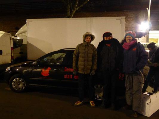 Unterstützung der Berliner Tiertafel e.V. bei der Hilfe für obdachlose Tierhalter