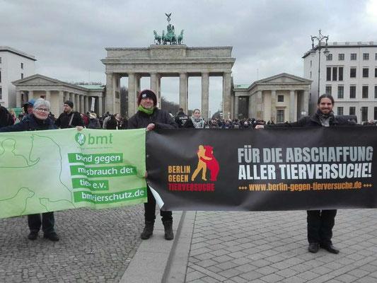 Tierrechtsdemo in Berlin März 2019