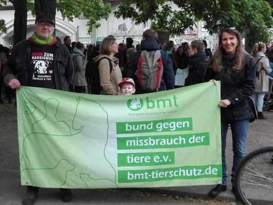 Tierrechtsdemo in Berlin Mai 2019