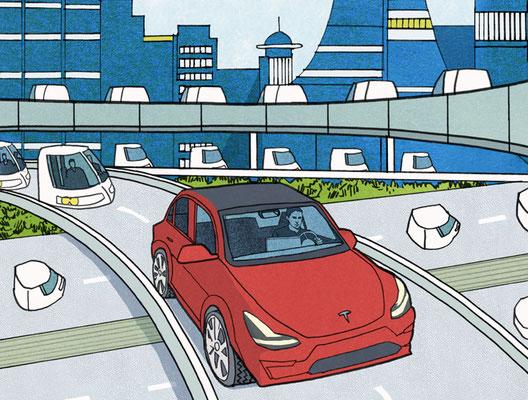 Road & Track - Tesla