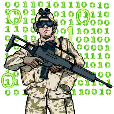 """The Boston Globe - """"NATO needs strong policy against cyber threats"""""""