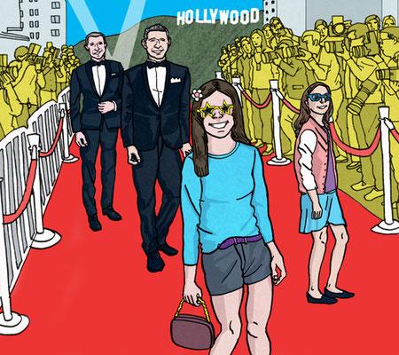 """San Diego Magazine - """"Glam Versus Glamour"""