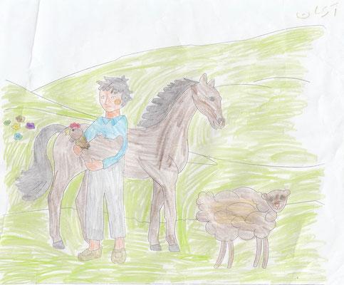 Erkan 8 years old from Kalaleh (Gonbad)