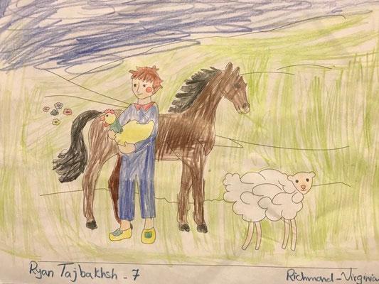 Rayan 7 years old from Richmond- Virginia