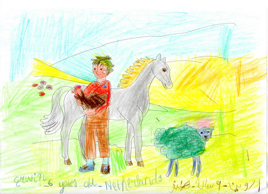 Erwin 6 years old from Niederland